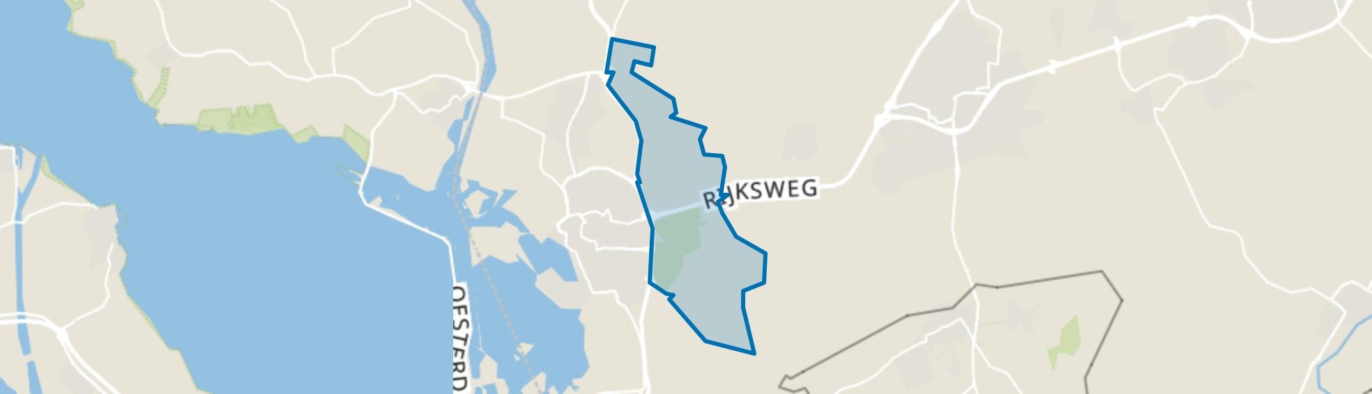 Buitengebied-Oost, Bergen op Zoom map