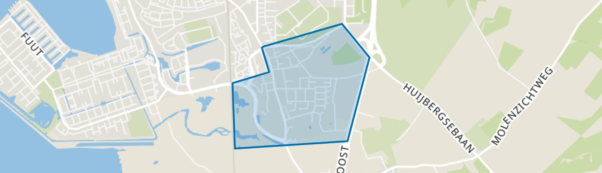 Nieuw Borgvliet, Bergen op Zoom map