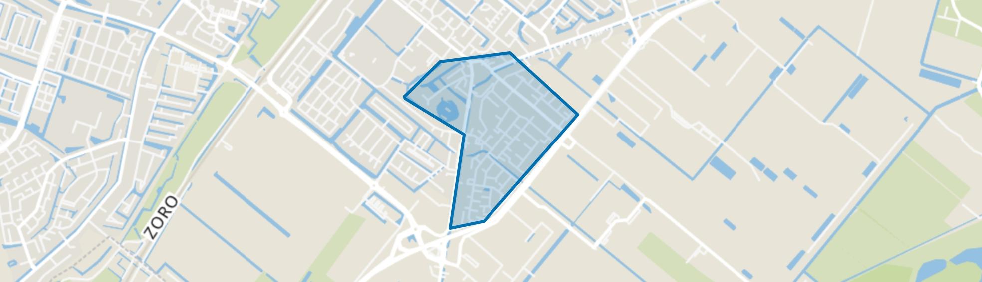 Dorp Bergschenhoek, Bergschenhoek map