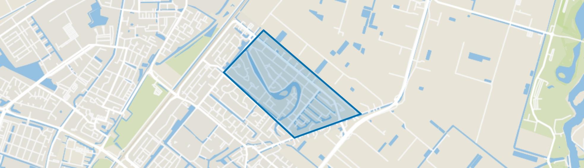 Oosteindsche Ackers, Bergschenhoek map