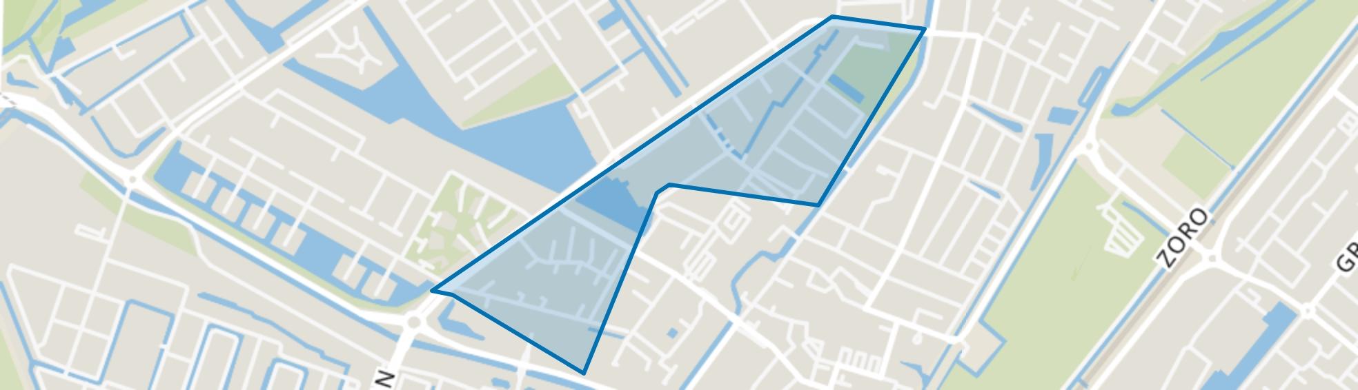 Parkbuurt, Berkel en Rodenrijs map