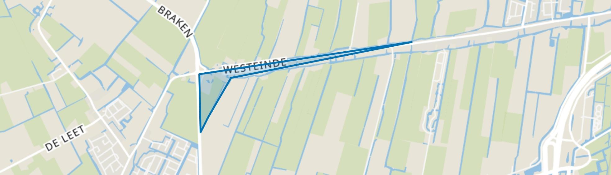 Westeinde, Berkhout map