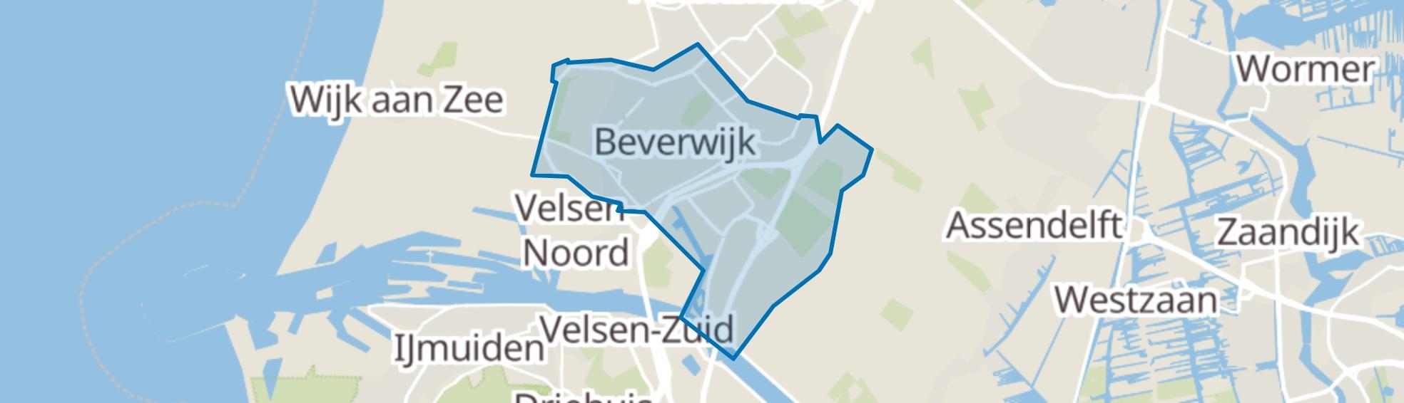 Beverwijk map