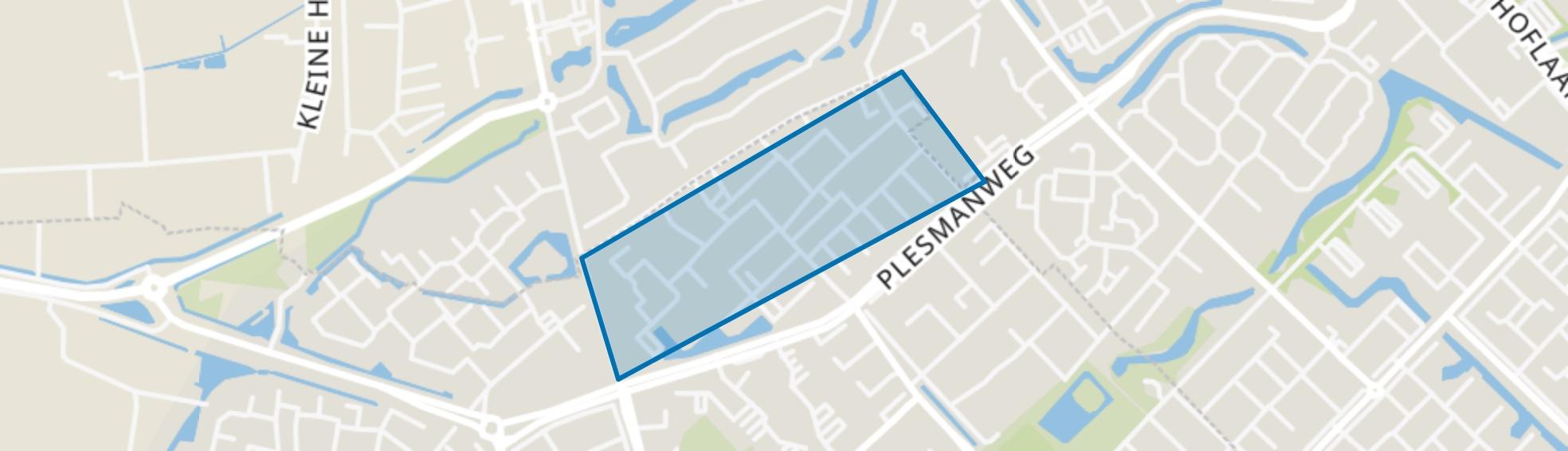 Bleriotlaan, Beverwijk map