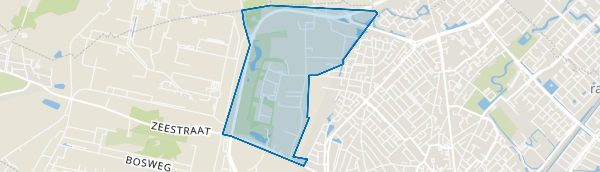 Creutzberglaan, Beverwijk map