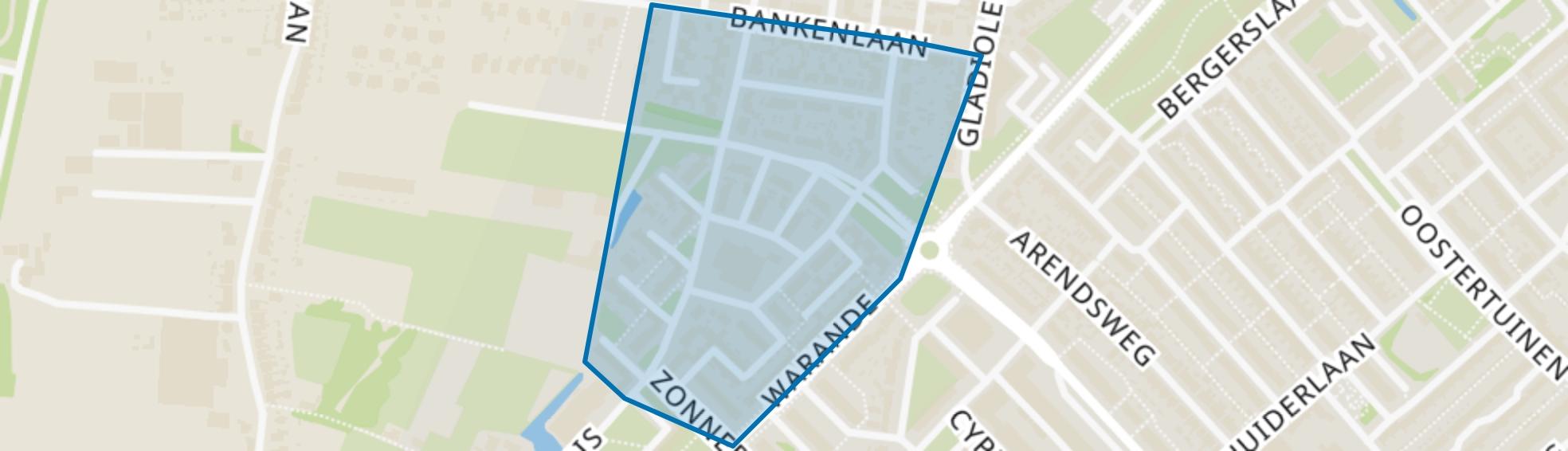 De Horn, Beverwijk map