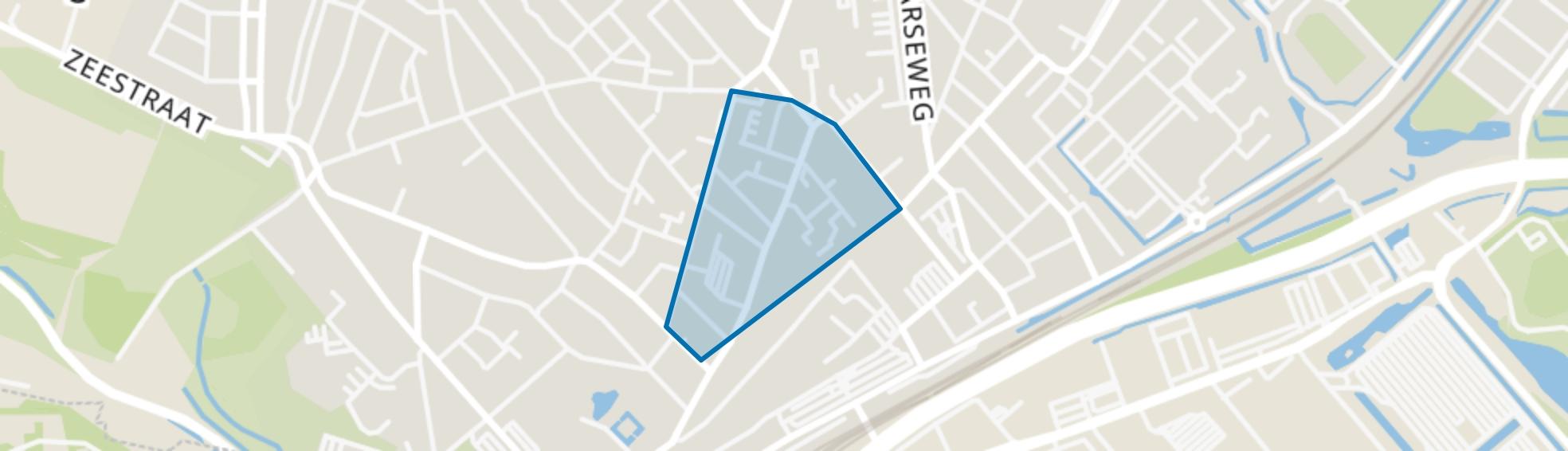 Koningstraat, Beverwijk map