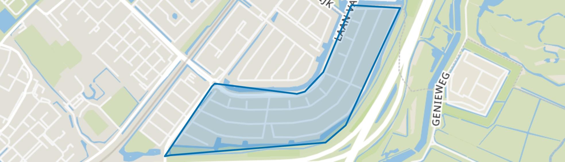 Lanen, Beverwijk map