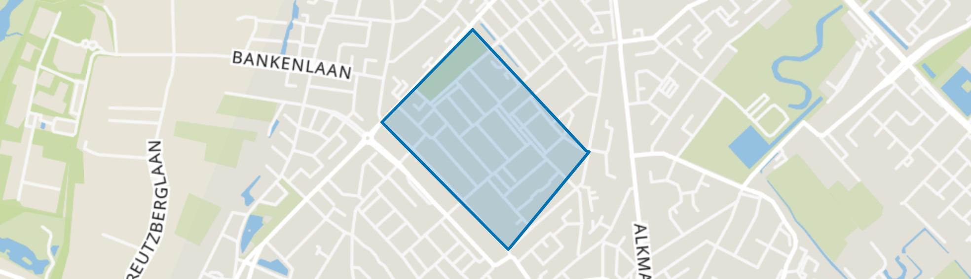 Oostertuinen, Beverwijk map