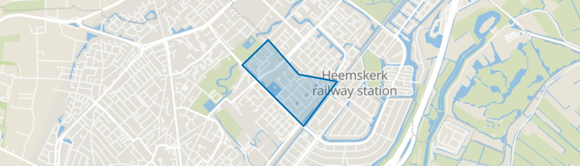 Oosterwijk, Beverwijk map