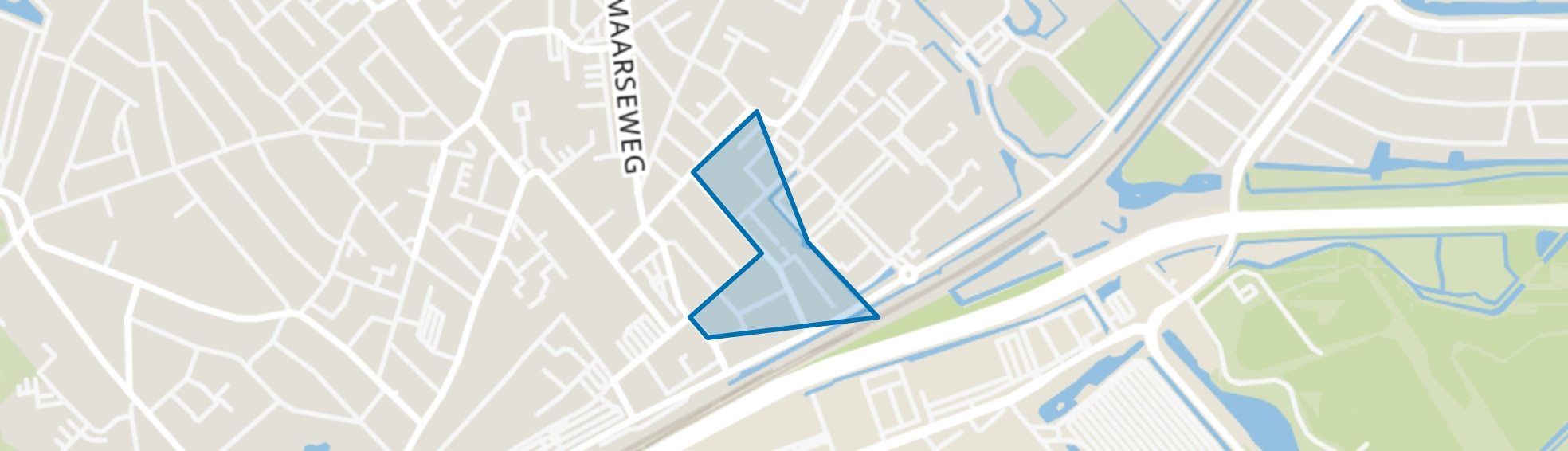 Oud Sportpark, Beverwijk map