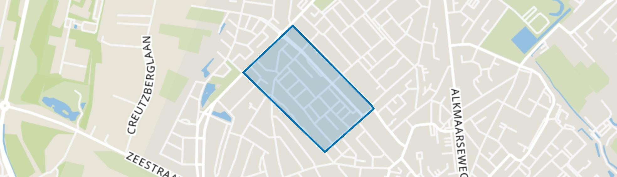 Plantage, Beverwijk map