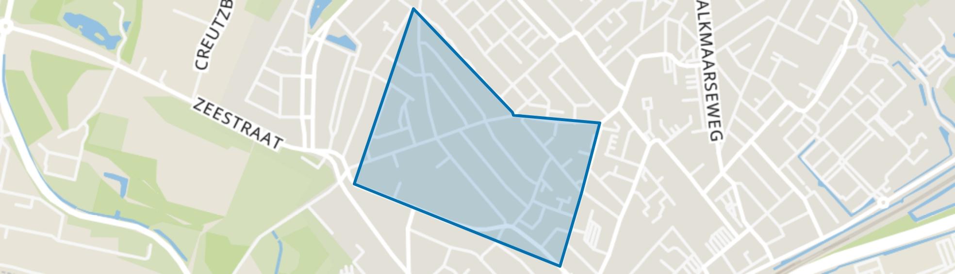 Ronde Boogaard, Beverwijk map