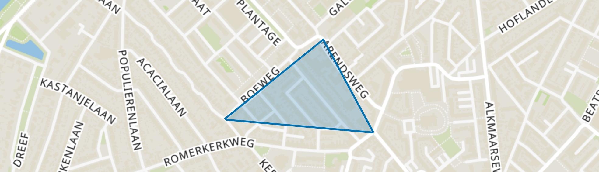 Sint Aagtendorp, Beverwijk map