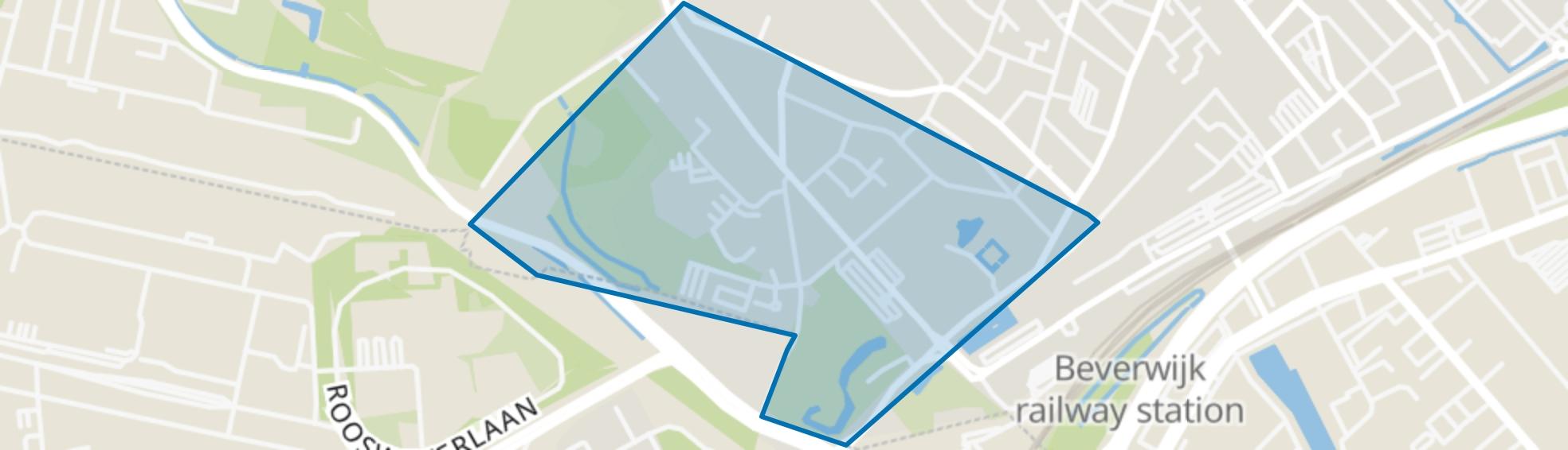 Vondellaan, Beverwijk map