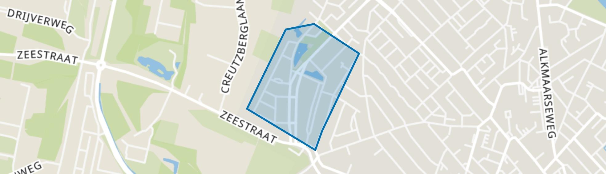 Warande, Beverwijk map