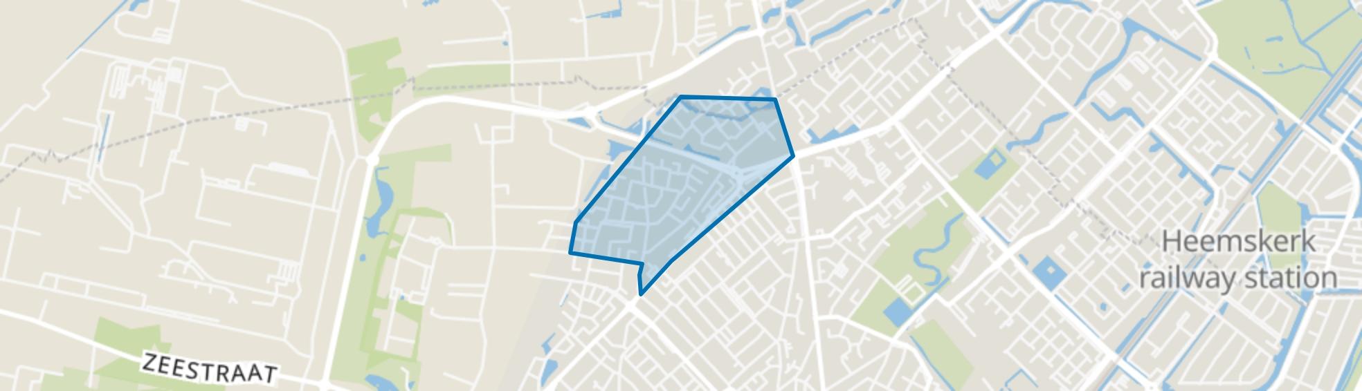 Westertuinen, Beverwijk map