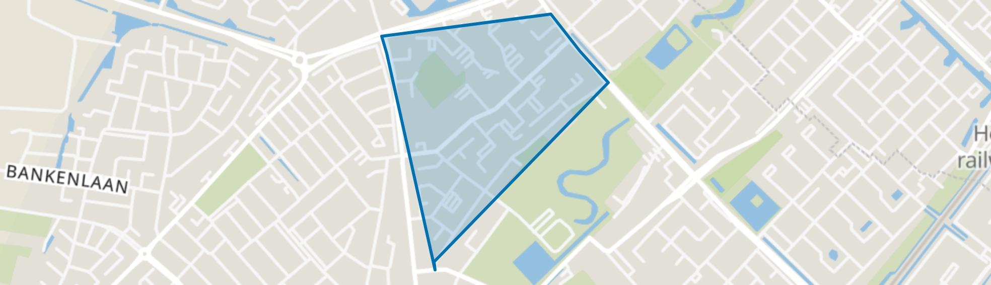 Wijkerbaan, Beverwijk map