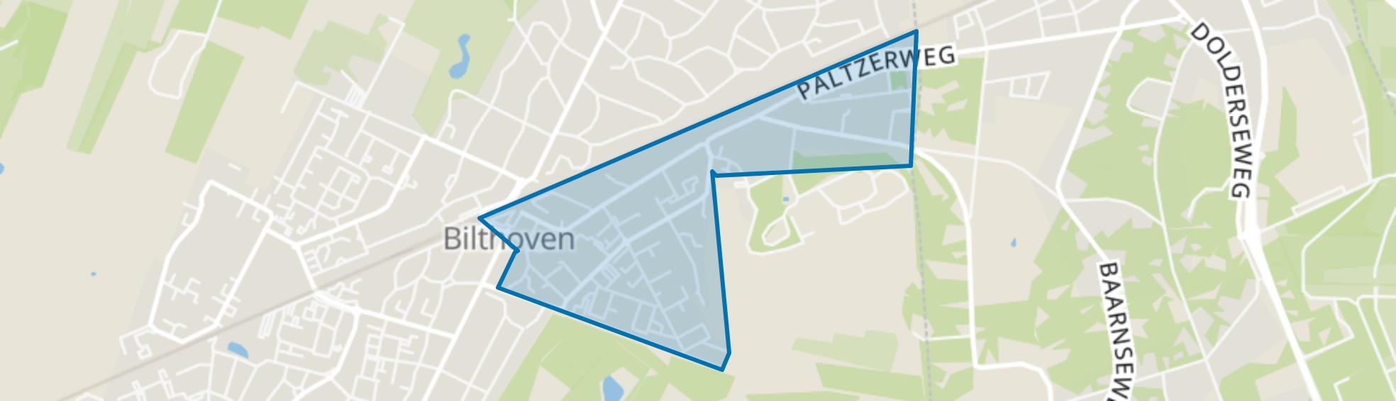 Bilthoven Centrum, Bilthoven map
