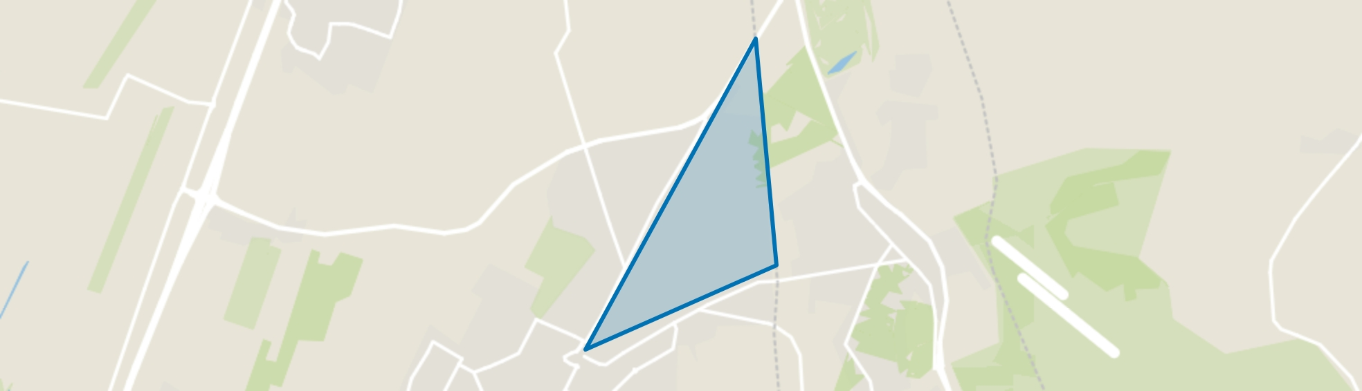Bilthoven Noord I, Bilthoven map