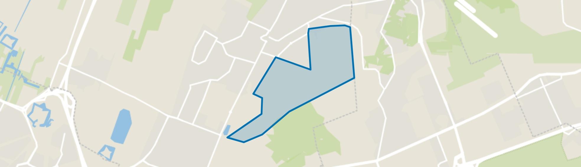 Noord Houdringe, Bilthoven map