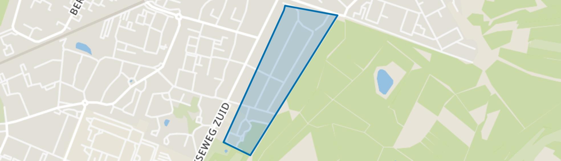 Overbosch, Bilthoven map