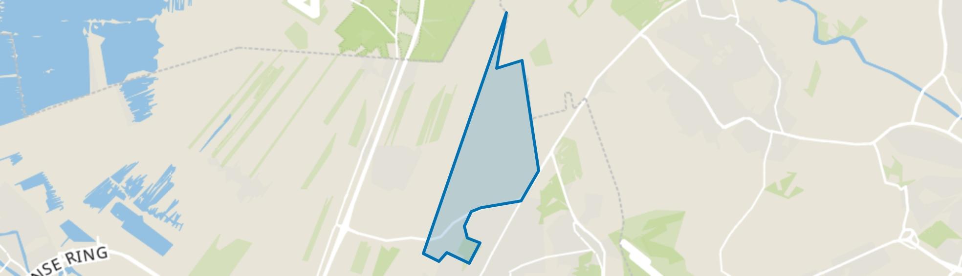 Ridderoordsche Bossen, Bilthoven map