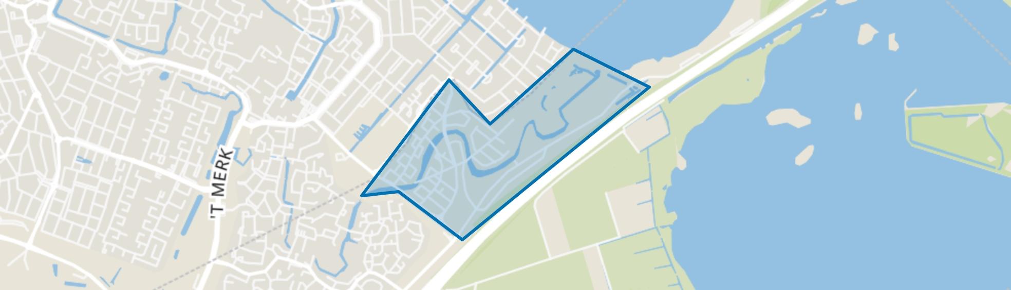 Blaricummermeent, Blaricum map
