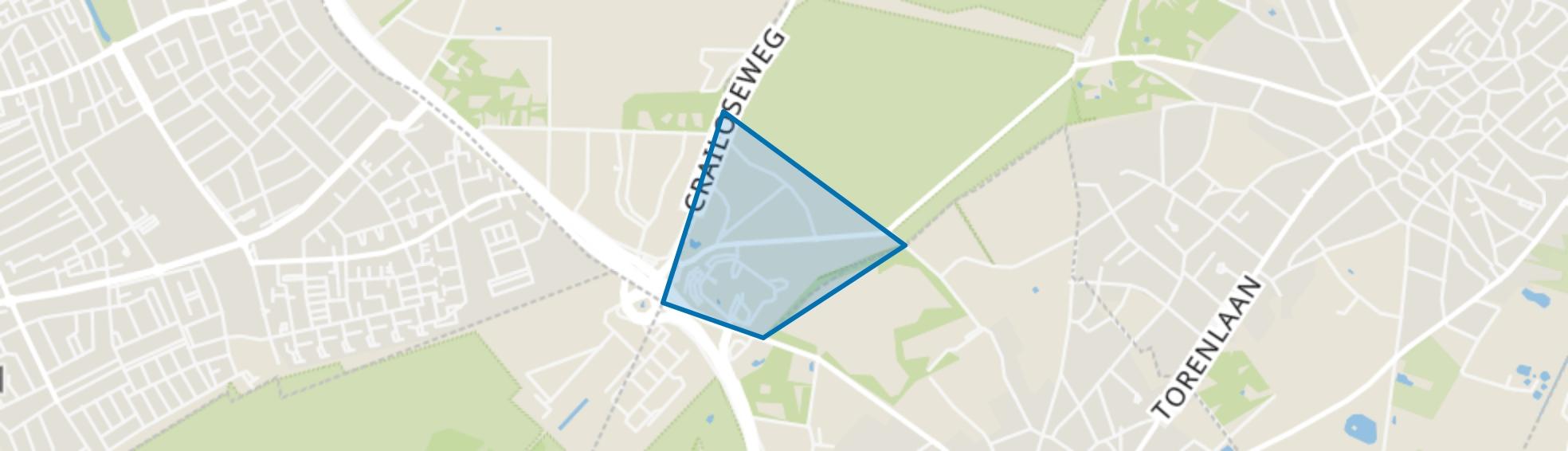 Crailo, Blaricum map