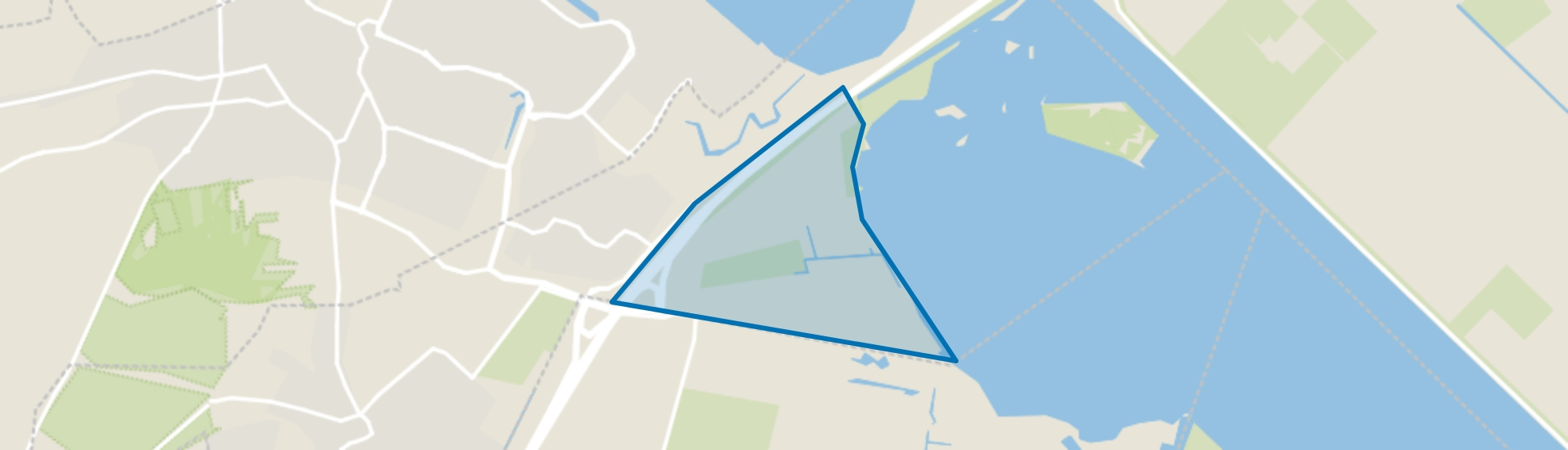 De Kampen, Blaricum map