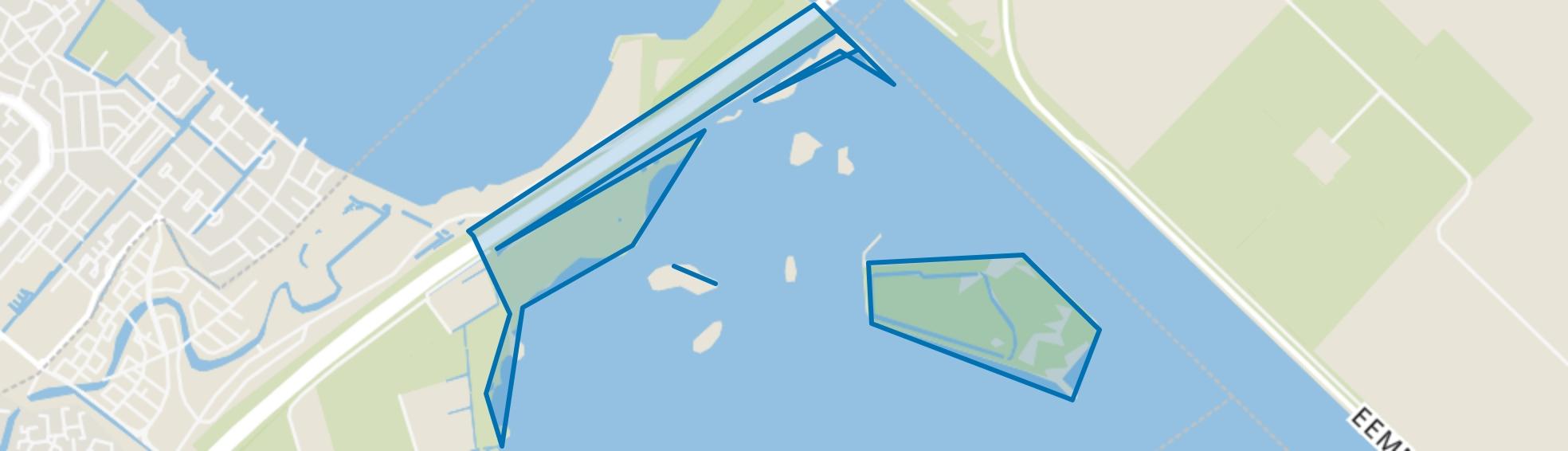 Eemmeer-Blaricum, Blaricum map