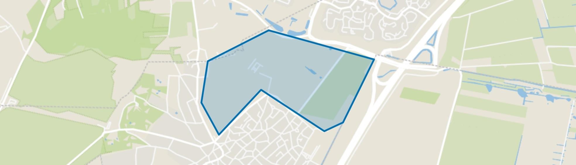 Warandepark-De Eng, Blaricum map