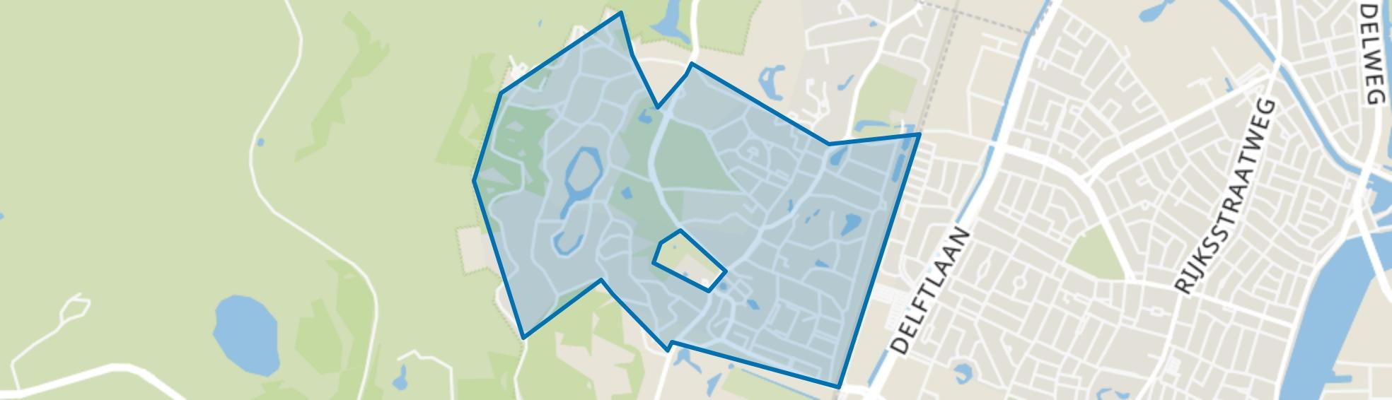 Bloemendaal, Bloemendaal map