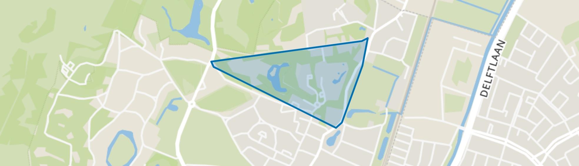 Wildhoef, Bloemendaal map