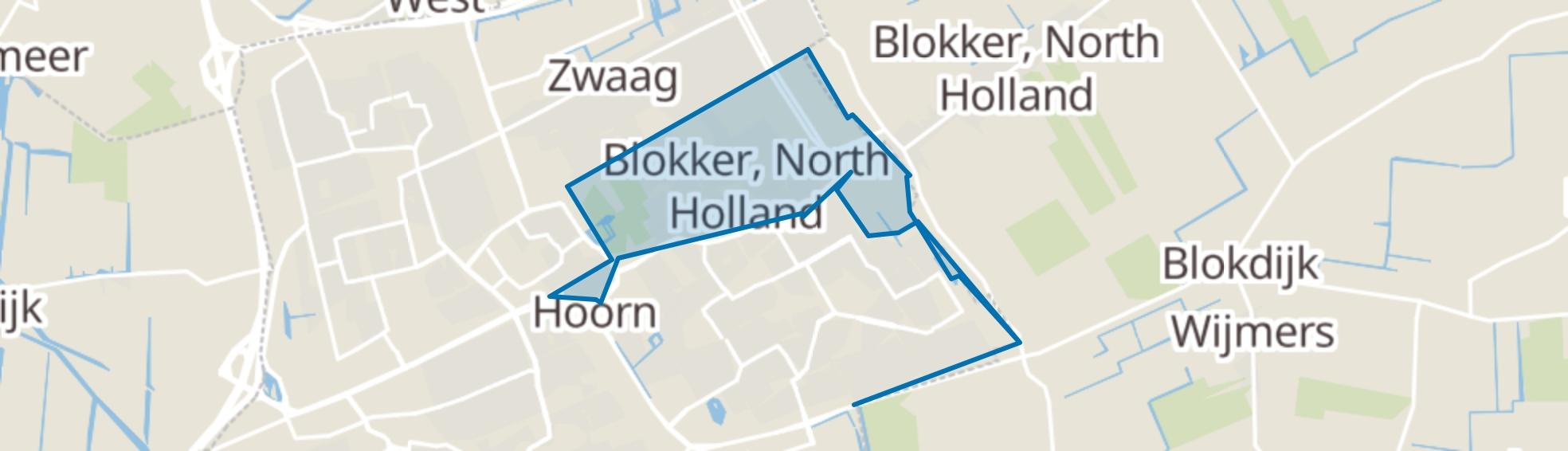 Blokker map