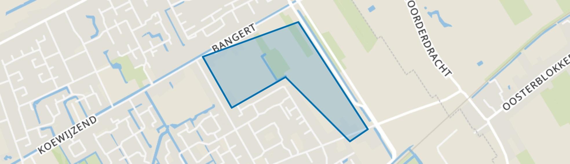 Bangert en Oosterpolder - Buurt 35 05, Blokker map