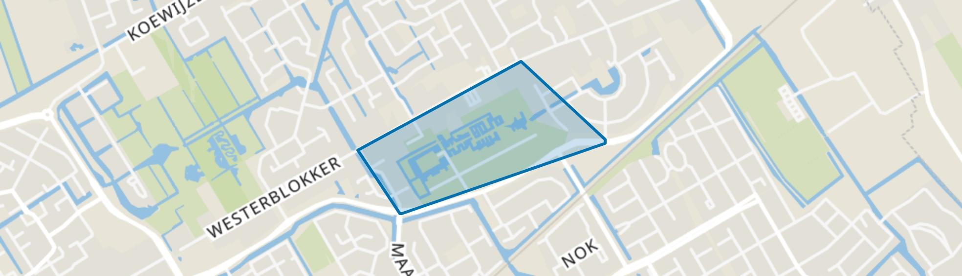 Blokker - Buurt 31 01, Blokker map