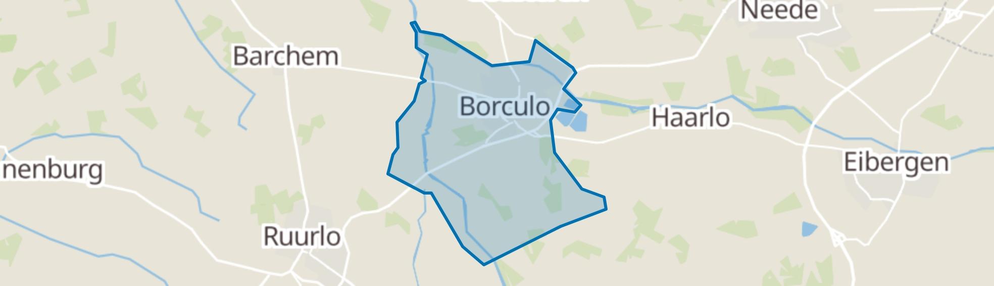 Borculo map