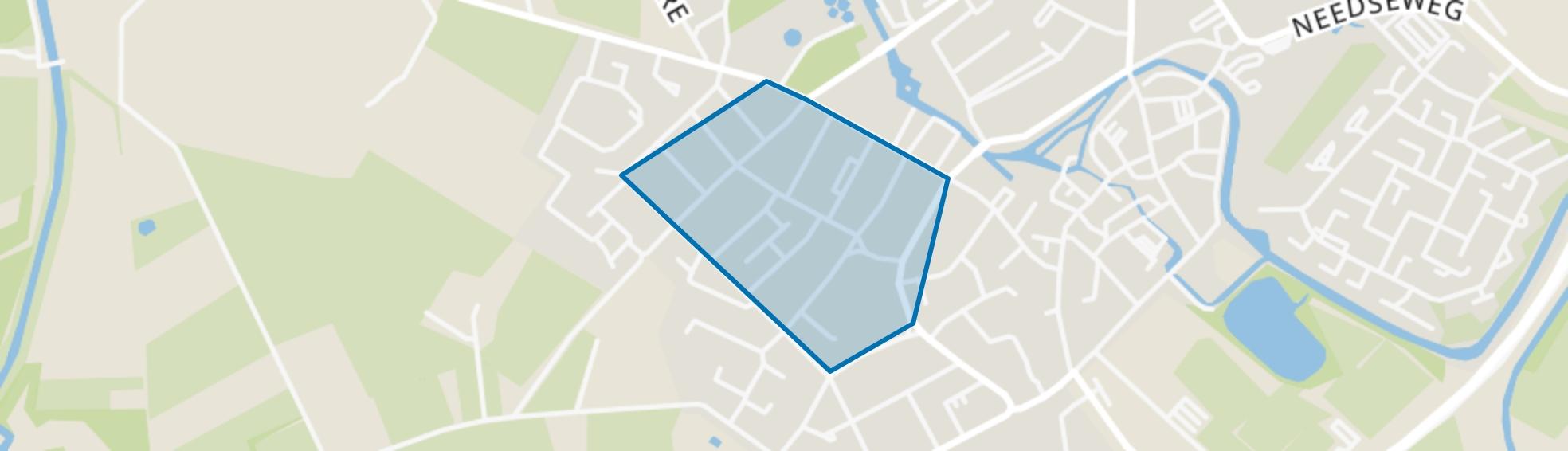 De Koppel, Borculo map