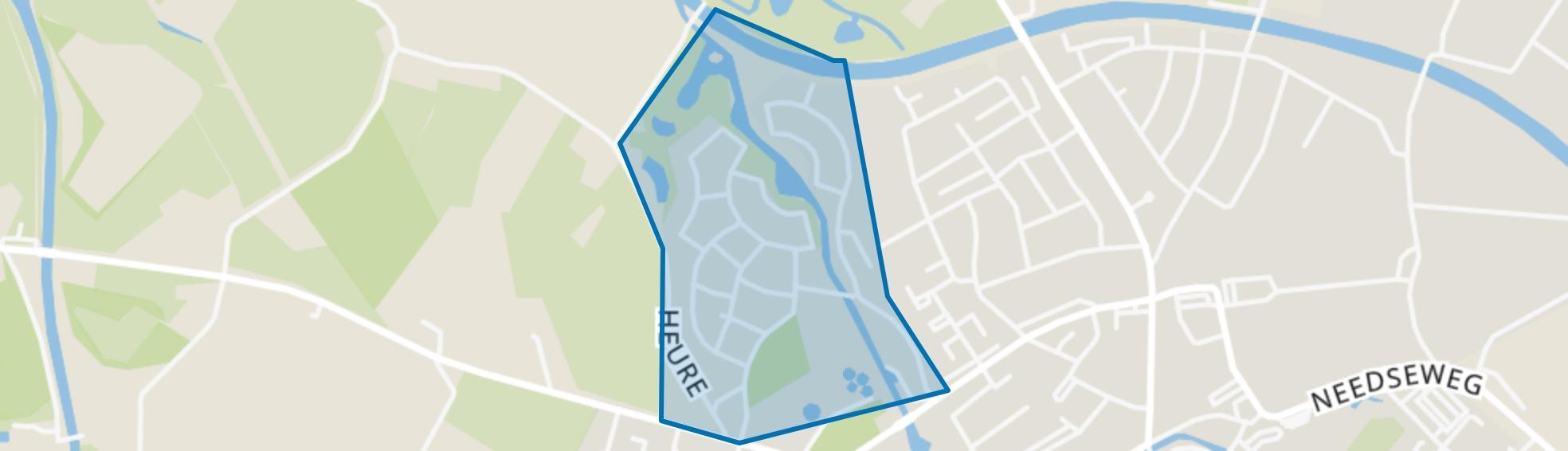 Elbrink, Borculo map