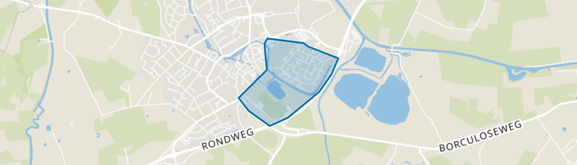 Hambroek, Borculo map