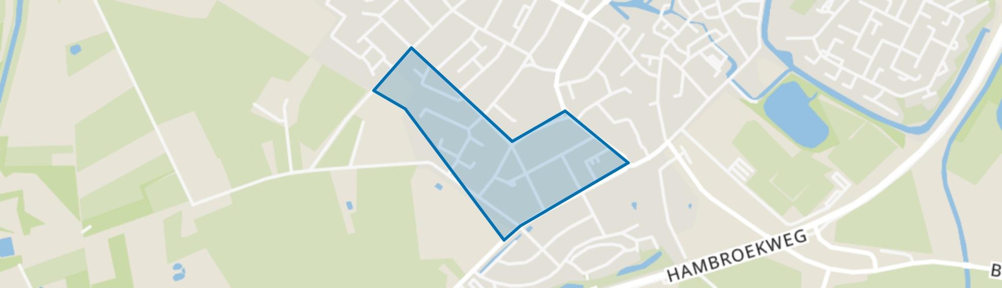 Nieuw Boer, Borculo map