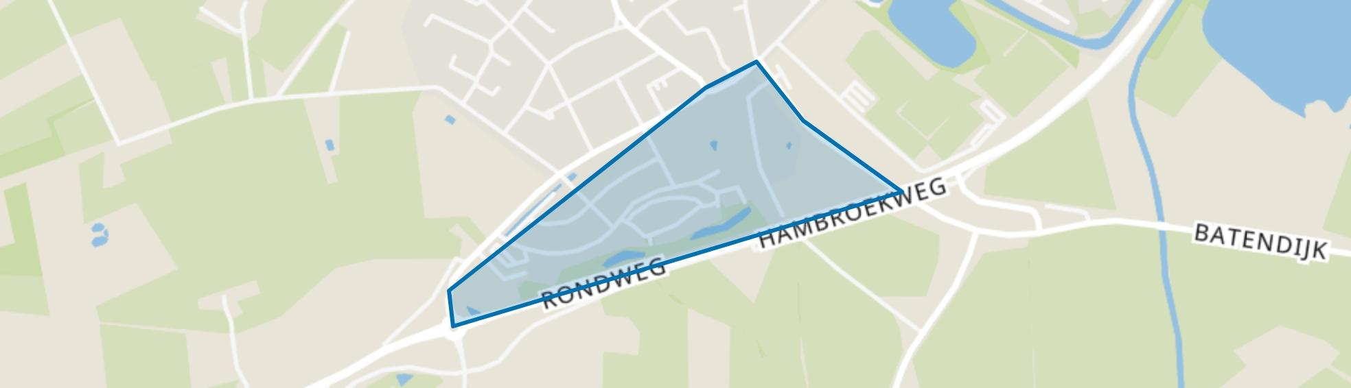 Schollenkamp, Borculo map