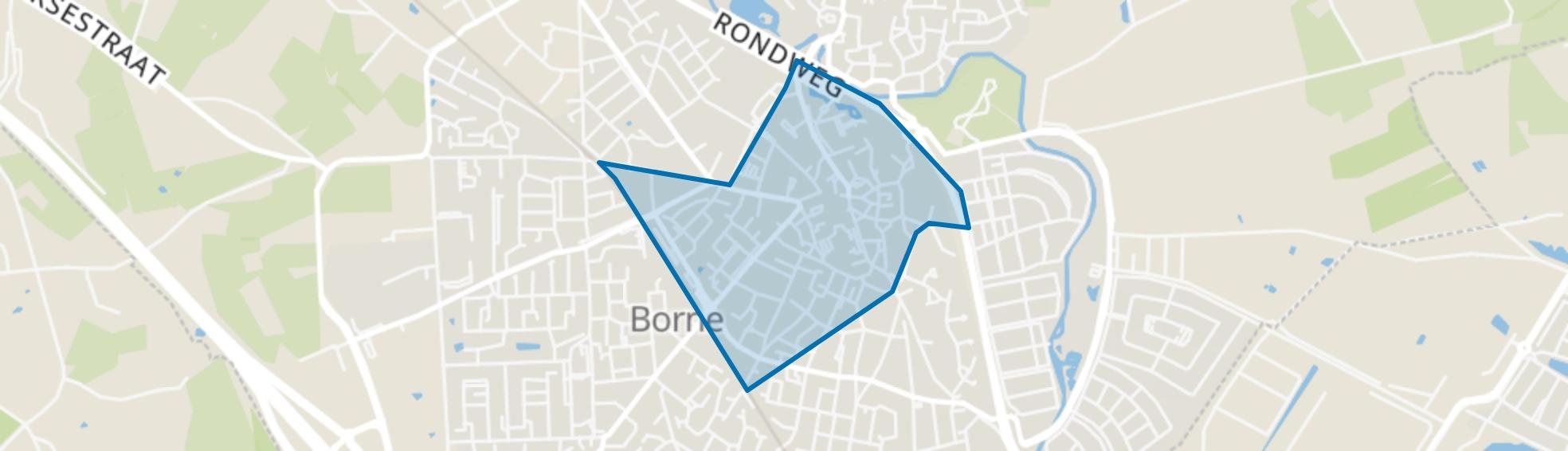 Borne Centrum, Borne map