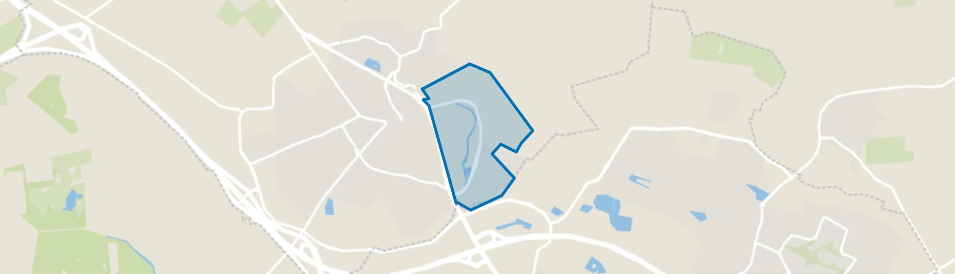Bornsche Maten, Borne map