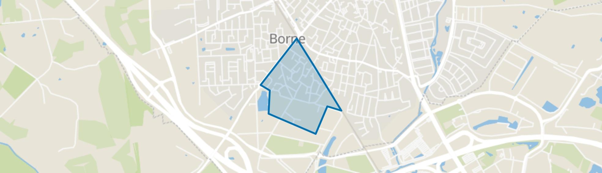 Tichelkamp, Borne map