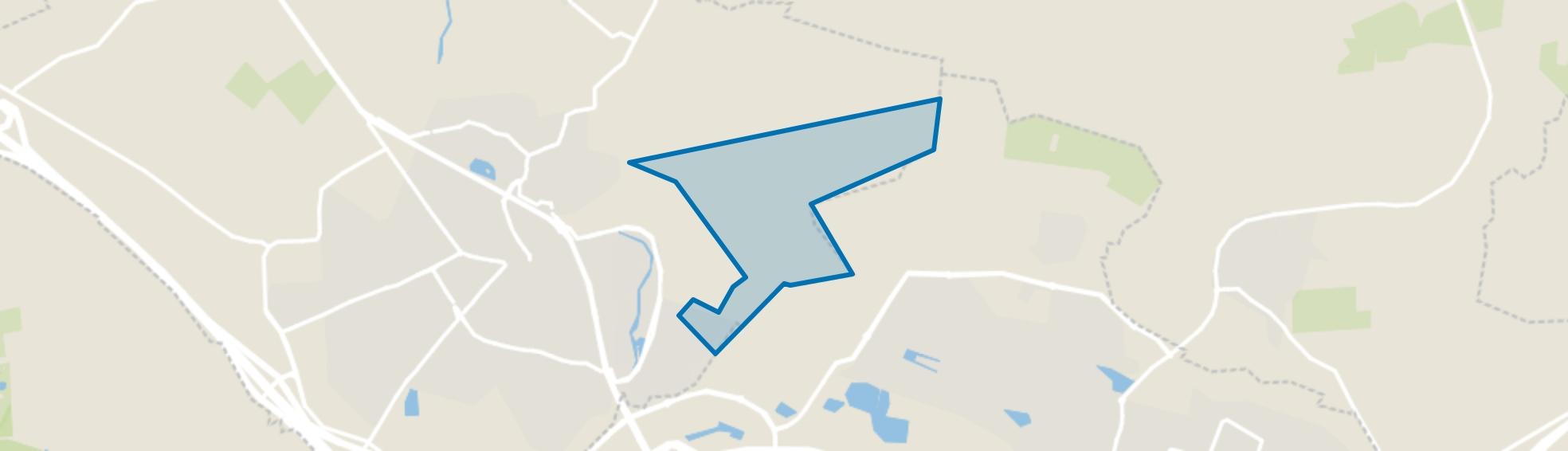 Verspreide huizen Borne-Oost, Borne map