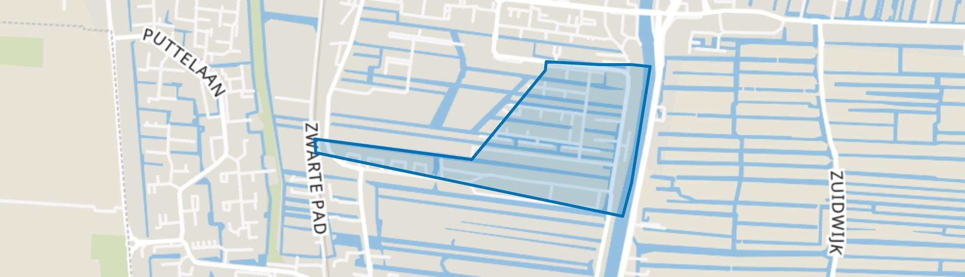 Appelbuurt, Boskoop map