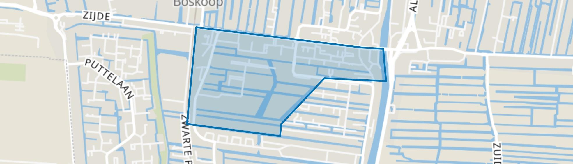 Voorofschebuurt, Boskoop map