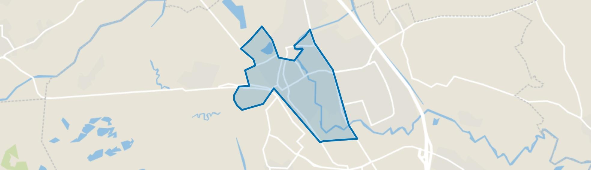 Boxtel-Centrum, Boxtel map